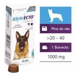 Bravecto Comprimido P/ Cães 20 A 40kg - Frete Gratis +brinde