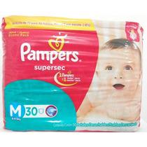 Fraldas Pampers M Supersec