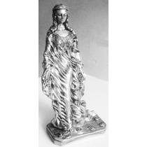 Estatua Imagem Iemanja 60cm Gesso Escultura 12x S/ Juros