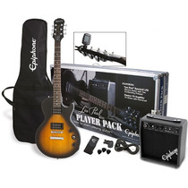 Kit Guitarra Epiphone Player Pack Les Paul Special