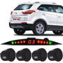 Sensor De Ré Estacionamento Hyundai Creta Visor Slim Led