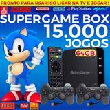 Super Game Box - Video Game Retro Com Jogos Antigos - 64gb