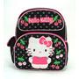Mochila Escolar Pequena Hello Kitty , Cerejas - 631697