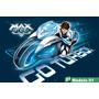 Painel Lona Aniversario Max Steel Moto Turbo Desenho