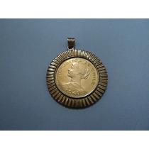 Moeda Em Ouro - 100 Pesos - República Do Chile 1949