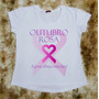 Camiseta Feminina Rosa Outubro Coração Oferta Frete Grátis