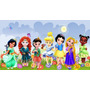 Big Painel - Princesas Baby - 2,00 X 1,00 Frete Grátis