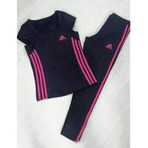 Conjunto Feminino Adidas