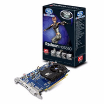 Placa De Video Sapphire Ati Radeon Hd 5550 1gb Ddr2 128 Bits