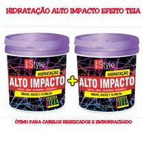 Hidratação Alto Impacto Efeito Teia New Style 1 Kg