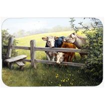 Vacas Em Um Buttercup Meadow Cozinha Ou Banho Mat 24x36 Bdba