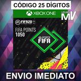 1050 Fifa Points Fifa 20 Xbox One - Código De 25 Dígitos