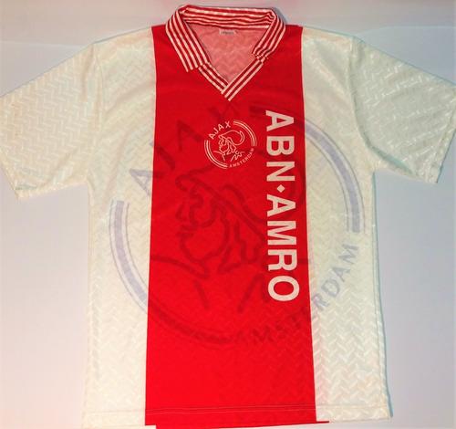 Camisa Ajax De Treino  antiga  holanda  rara  perfeita 940dcbe67ebf1