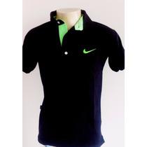 Kit 3 Camisa Camiseta Polo Nike Várias Cores Frete Grátis.