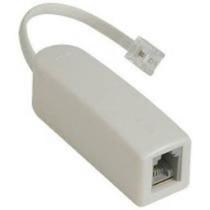 Micro Filtro Adsl Simples Telefone Rj11 Roteador Banda Larga