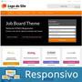 Site Vagas De Emprego WordPress Português Tema 237a