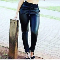 Calça Feminina Plus Size Saruel Legging Hot Pants Brilho