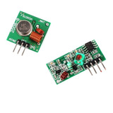 Módulo Rf Transmissor Receptor 433mhz Am Arduino Rx Tx Rasp