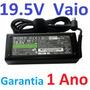 Fonte Sony Vaio Vgp Vgn Vpc Pcg (+ Cabo Carregador) 19.5v