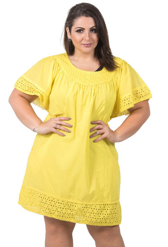04ef8a701e3600 Saida De Praia E Piscina Moda Plus Size Vestido Canga Verão - R$ 120 ...