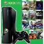 Xbox 360 Slim  + Hd Externo 1 Tb Com 150 Jogos + Skin