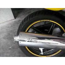 Escapamento Twister Cbx 250 08 F1 Esportivo Cromado Fortuna