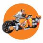 Bloco De Montar Super Moto Cyclone   118 Peças - Click It