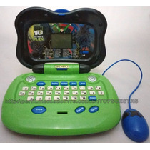 Laptop Infantil Educativo Ben 10 28 Atividades Candide