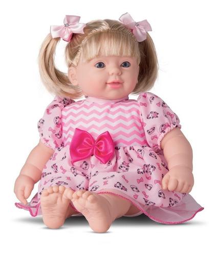 Boneca Bebe Reborn Lis Collection Fala E Canta - Divertoys