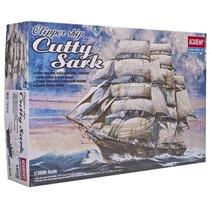 Navio  Para Montar Clipper Ship Cutty Sark Academy 14110