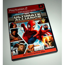 Marvel Ultimate Alliance Special Edition Original - Ps2, Ps3