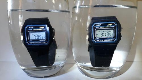7866329f410 Kit 10 Relogios Aqua ( Original ) Prova D agua.