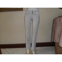 Calça Jeans Desbotada Com Pouco Strech Blue Steel T/44