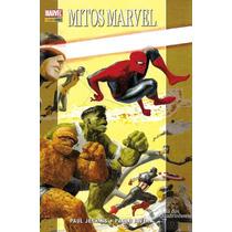 Hq Book Mitos Marvel - Capa Dura, Semi Novo Com 6 Histórias.