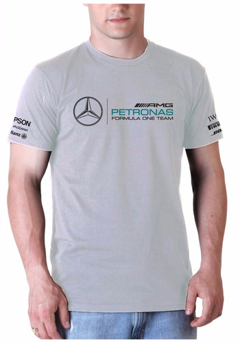 Camisa Mercedes Formula One Team Básica