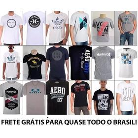 44277121d4 Kit 13 Camiseta Camisa Blusa Masculina Atacado De Marca