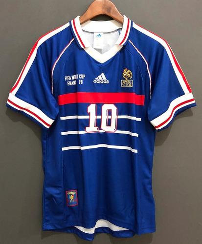 França Retro 1998 -  10 Zidane. R  169.99 255abc82f963a
