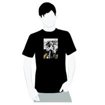 Camisa Bob Marley Rasta White Hair - Emborrachada - Tam. A4