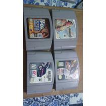 Lote De Fitas Para Nintendo 64 Originais Americanas