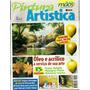 520 Rvt- 2001 Revista Mãos De Ouro- Abr 48- Óleo E Acrílico