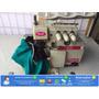 Máquina De Overloque Industrial Revisada Com Mesa E Motor