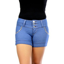 Shorts Spikes Azul Planet Girls - 40