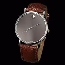 Relógio Importado Japonês De Couro Barato Masculino