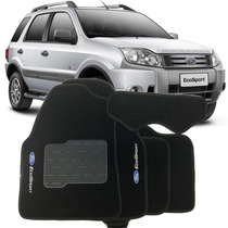 Tapete Carpete Ecosport 07 2008 2009 2010 2011 2012 Bordado