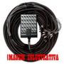Multicabo Completo Com Medusa Hjh 36 Vias - Xlr - 20 Metros