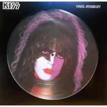 Lp - Vinil - Kiss - Paul Stanley - Picture Disc - Novo