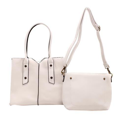 Bolsa Feminina Social E Mini Bolsa Transversal Kit Com 2 8d6235fef4