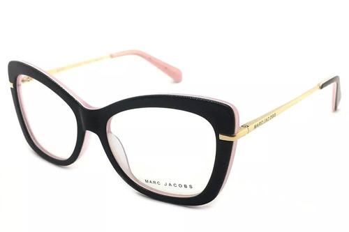Armação P  Óculos De Grau Feminino Retangular Gatinho Rosê. R  109.9 c747f94700