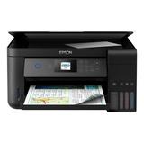 Impressora A Cor Multifuncional Epson Ecotank L4160 Com Wi-fi 110v/220v Preta