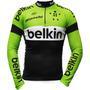 Camisa Ciclismo Manga Longa Ert Belkin (p-m-g-gg-3g)